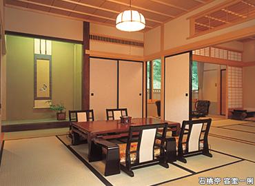 石橋亭 客室一例