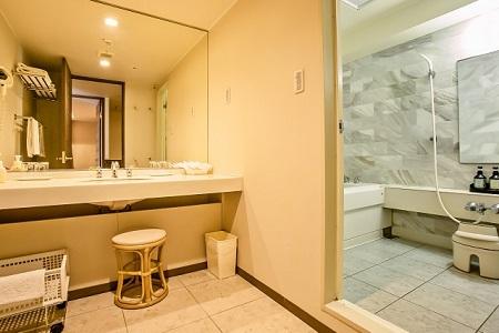 写真:部屋風呂一例