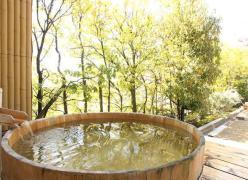 写真:桶風呂