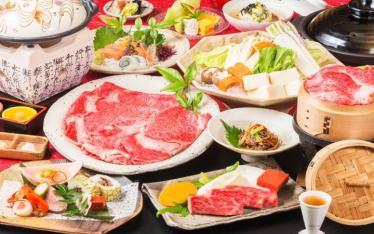 写真:夕食一例