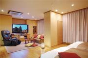 写真:特別室「開花亭」ムービールーム