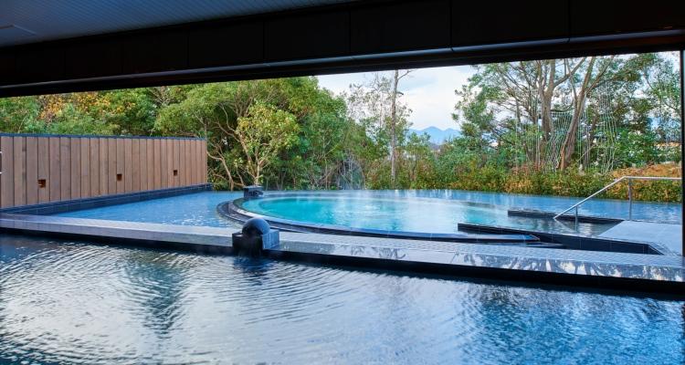 露天風呂つき大浴場