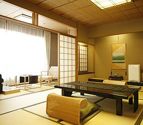 写真:客室「杉の間」
