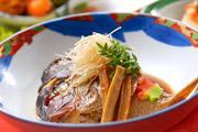 写真:鯛の頭煮