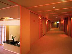 写真:客室廊下