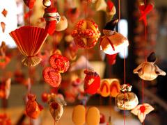 写真:稲取・雛のつるし飾り