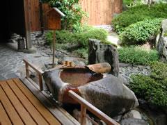 写真:飲泉場(長寿の湯)