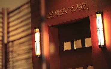 写真:エステ「SANUR サヌール」入口