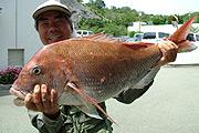 写真:釣り体験