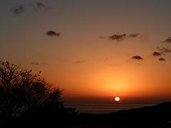 写真:夕陽