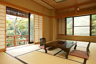 写真:欅_和室
