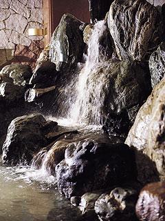 写真:滝見の湯屋 内湯
