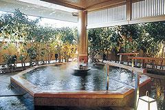 写真:悠幻の湯殿 露天薬湯