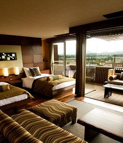 写真:「然 Zen」スイート客室 お昼寝ソファータイプ