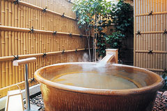 写真:信楽焼風呂タイプ