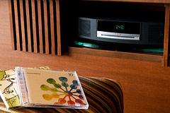 写真:天祥の館 客室用BGM設備