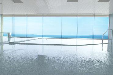 写真:しおさい亭 7階大浴場