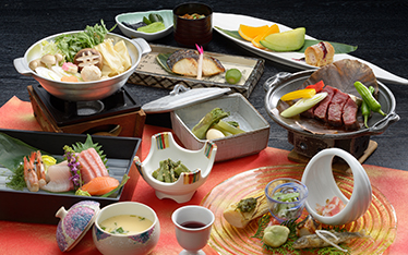 写真:お部屋 お料理一例 | イメージ