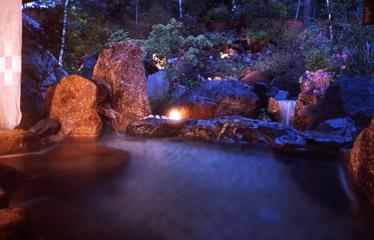 写真:野遊び「貸切露天風呂」