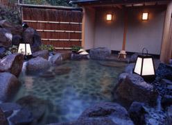 写真:庭園露天風呂