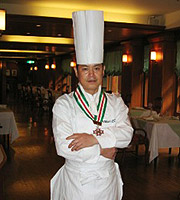 写真:料理長