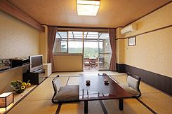 写真:露天風呂付き和室 和室1