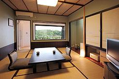 写真:露天風呂付き和室 和室3