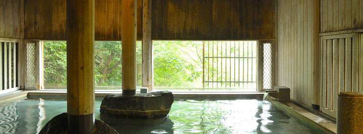 牧水の湯 檜風呂