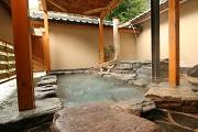 写真:①露天風呂