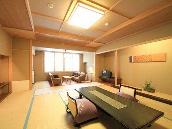 特別室(12.5畳+広縁、檜風呂)