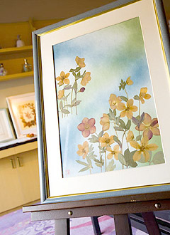 写真:押し花ギャラリー