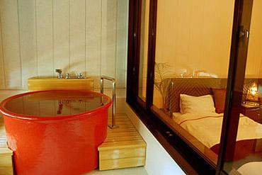 写真:アジアンタイプ ゲルマニウム浴槽