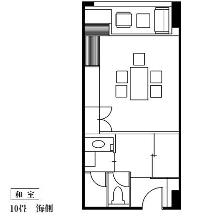 写真:和室10帖|見取り図