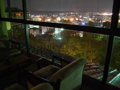 写真:みどりの棟からの夜景