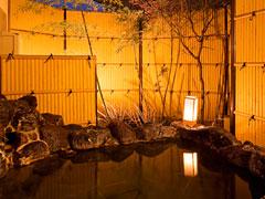 写真:かけ流し温泉貸切露天風呂「天の光湯」