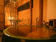 写真:温泉貸切露天風呂「陶海の湯」