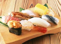写真:寿司コーナー 海石榴 -つばき-