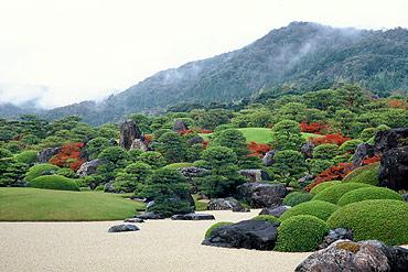 写真:足立美術館の庭園