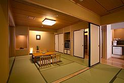 写真:二間続き和室