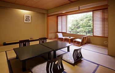 写真:花翔館客室