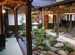 旅の宿 輝雲荘:離れ中庭
