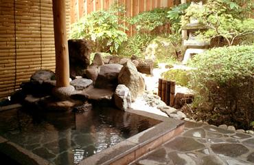 写真:貸切専用露天風呂