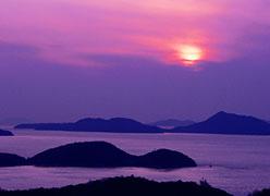 写真:夕景