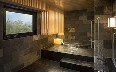 写真:貸切温泉風呂「個湯の間」