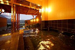 写真:大浴場・露天風呂 まことの湯(男湯)
