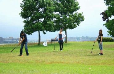 写真:パークゴルフ