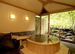 写真:貸切風呂「水光の湯」