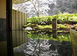 写真:貸切風呂「山色の湯」