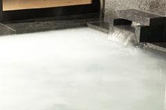 写真:シルク風呂 (ホワイトイオンバス)