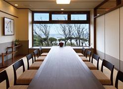 写真:個室食事処「凪」
